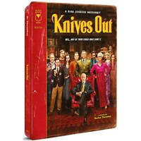 Knives Out SteelBook (4K Ultra HD/Blu-ray/Digital) UK Version