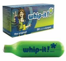 50 pack Whip-It! Brand Whipped Cream Chargers