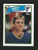 1988-89 Topps #66 BRETT HULL RC MINTPSA? BGS? Centered Blazer!! ST. LOUIS BLUES