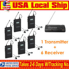 In-Ear Takstar WPM-200 Wireless Stereo Monitor System 1 Transmitter+6 Receivers