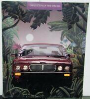 1988 Jaguar Evolution Of The Species Sales Brochure Original