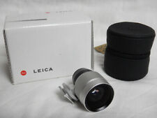 Leica M Viewfinder for 21/24/28mm Lenses Silver + BOX MINT Condition Excellent
