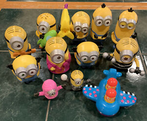 Lot of 12 Minions McDonald's Happy Meal Toys Despicable Me Action Figures (2015)