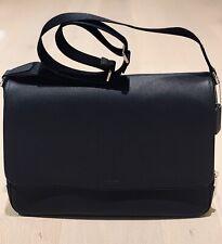 Coach Lexington Saffiano Business Messenger Bag Black (F71263)