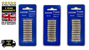 Assorted Cartridge Fuses Sets + 3/5/13 AMP + Domestic Fuse Household Mains Plug