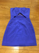 Marciano AMBER Strapless Cut-Out Dress in Blue | Size 0 | NWOT | Retails $280