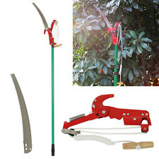2.6M High Quality Garden Cut Lopper &Extendable Tree Branch Pruner Cutter