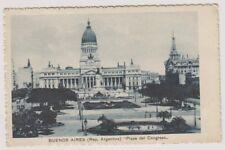 Argentina postcard - Buenos Aires, Plaza del Congreso (A2)