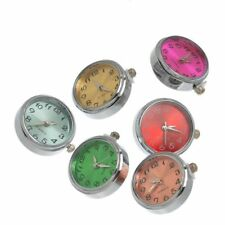 Snap Button Watch Noosa Style Snap Chunks Charms Various Colours 20mm