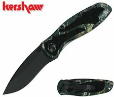 "KERSHAW  ""usa"" - BLUR CAMO spring assist SPEEDSAFE Ken Onion knife KAI 1670CAMO"