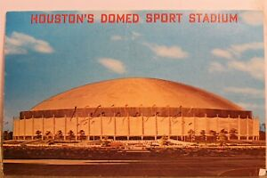 Texas TX Houston Harris County Domed Stadium Postcard Old Vintage Card View Post