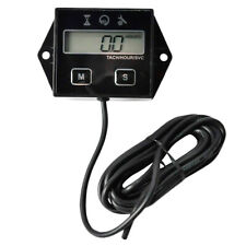 Lcd Digital Display Moto Engine Tach Hour Meter For Motorcycle Tachometer G F6F3