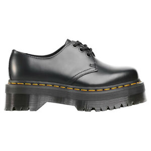Dr. Martens Unisex Shoes 1461 Quad Casual Lace-Up Goodyear-Welt Leather