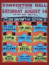 "Tom Jones / Them Conneaut Lake 16"" x 12"" Photo Repro Concert Poster"