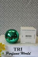 Boss In Motion Hugo Boss GREEN EDITION Eau de Toilette Men Spray 3 oz. White Box