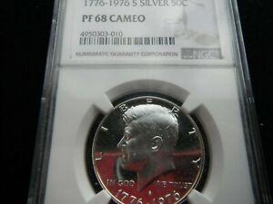 USA KENNEDY SILVER 50 CENTS NGC HIGH GRADE COIN 1776-1976