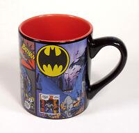Batman Comic panels DC Comics Large ceramic coffee tea cup mug - New