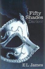FIFTY SHADES DARKER E. L. James (Fifty Shades #2) Erotic Fiction 2012 FREE POST
