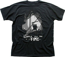 Scary Adventure Limbo Time Finn Jake black printed t-shirt HG9875