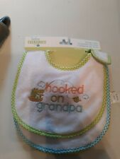New listing Baby Treasures Set Of 3 New Bibs All About Grandpa