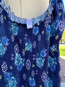 Justice Girl's Size 20 Plus- Floral Dress Floral Print - New with Tags
