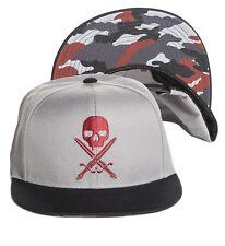 SULLEN Urban Assault Snapback Cap – Grey