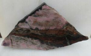 Jasper cabbing mineral rough slab specimen collection lapidary MI020