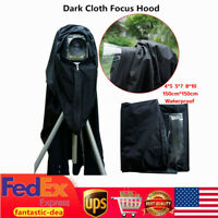Dark Cloth Focusing Hood For 8x10 5x7 120 Format Camera Wrapping Waterproof USA