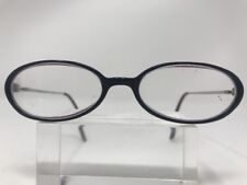 Gigi Eyeglasses 52-17-135 985 HM Deep Violet/Silver Half Rimless I773