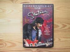Santana: Supernatural Live. DVD-Video, PAL, Image Entertainment, Europe 2000.