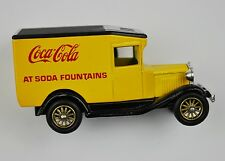 Coca-Cola Coke Modell-Auto Die-Cast Car Lledo Days Gone Oldtimer gelb-schwarz 13