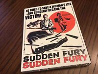 Sudden Fury Blu ray / DVD Combo with Limited Slipcover Vinegar Syndrome NEW OOP