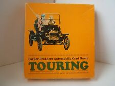 Touring Vintage Parker Brothers Automobile Card Game Complete