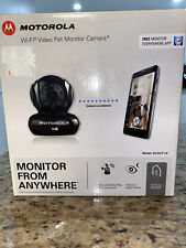 New Motorola Scout1-B WiFi Video Pet Monitor Camera for PC Mac IPhone Android