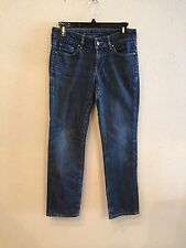 BANANA REPUBLIC Womens Classic Skinny Jeans Dark Wash size 2 actual 30Wx27L B48