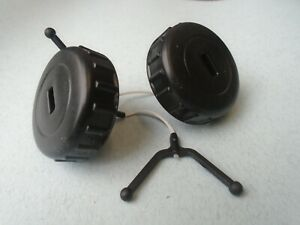 PAIR OF PETROL OIL FUEL FILLER CAPS FOR STIHL MS180 018 CHAINSAW 11303500500