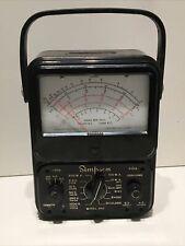 Simpson Model 260 Series Volt Ohm Test Meter Multimeter For Parts Or Repair