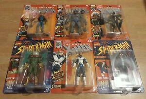 Marvel Legends Vintage X-Men & Spider-Man Retro Bundle Lot