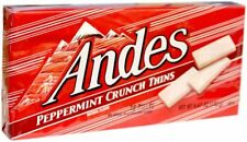 3- Andes Peppermint Crunch Mint Thins White Chocolate 28pc/4.67oz seasonal candy