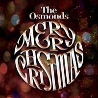 THE OSMONDS Merry Christmas (2015) 17-track CD album NEW/SEALED