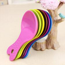 Cute pet dog cat bird rabbit food feeder bowl scoop shovel tool random colors