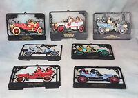 Antique Car Plaques Plastic Vernon Co. Lot of 7 Van Noy John Deere Equipment PA