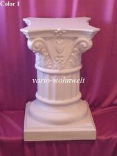 Säule Säulen Tisch Tischsäule Lampe Statue Schale 1010 / Material : Stuckgips