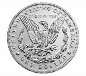 *Pre-sale* 2021 Morgan Silver Dollar with CC Privy Mark 100th Anniversary
