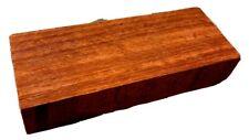 Exotic Wood Padauk Timber 5x2x1 Knife Door Handles Guitar Bridges Pen Making