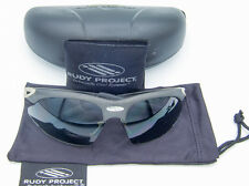 Rudy Project Kerosene Sunglasses Carbon Smoke + Clear Replacement Lenses USED