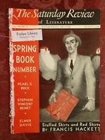 Saturday Review April 4 1936 FRANCIS HACKETT PEARL S. BUCK