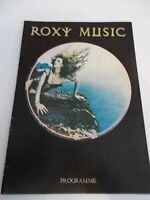 ROXY MUSIC 1975 TOUR PROGRAMME