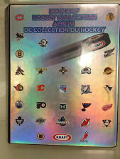 1996 96-97 Kraft Hockey Collectors complete set in album w/Lemieux, Brodeur, Roy