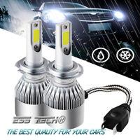 Ampoule Led Blanc H7 Auto-Moto lampe 6000k Feu Super Lumineux 70W Pack X2 pcs
